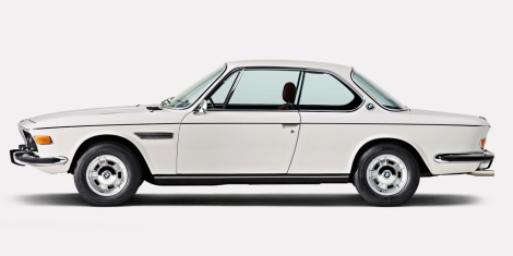 [a pristine, all-original BMW 3.0 CSi basks in its primeness]
