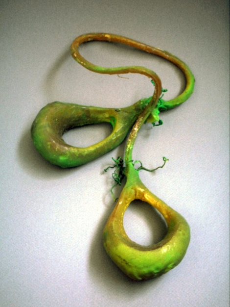 """[the """"neener"""" fruit as envisioned by The Professor's former student Remy Labesque, circa 2003]"""