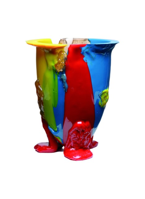 [one of The Professor's favorites: amazonia vase, gaetano pesce, 2004]