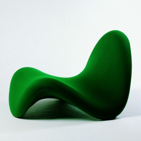 [chair 577 designed by pierre paulin, 1967, part of DESIGN SINCE 1945 exhibition]