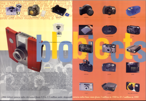 [the second spread of the infoscape column devoted to the new significance of cameras]
