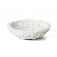 [like most other bowls, the foam bowl designed by marcel wanders holds The Professor's honey smacks®; unlike most bowls, it won't hold any milk]