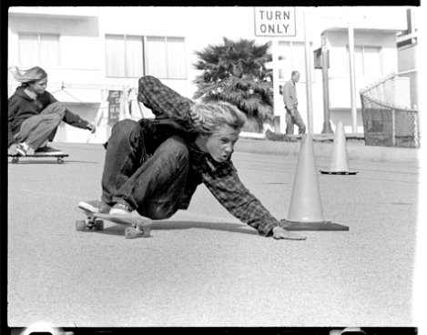 [golden boy jay adams honing his craft, repeating his runs as a way of iterating an idea, of pushing what was possible]