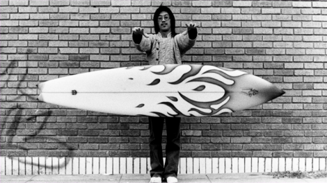 [jeff ho was one of the founders of the surf shop and still runs one today]