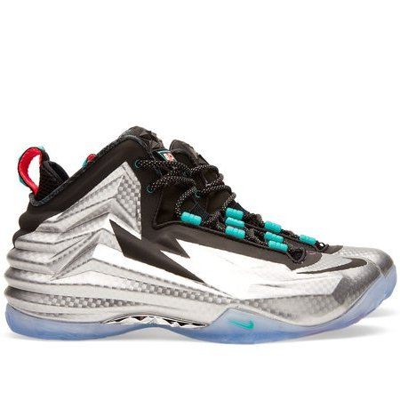 [in post-industrial silver the nike chuck posite celebrates its angularity]