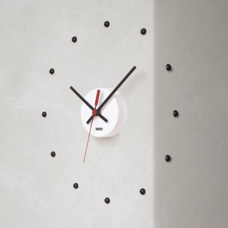 [the result of an early collaboration between thomas s. bley and The Professor, the real wall clock™ was manufactured for more than 20 years]