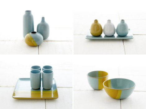 [recent ceramics have been presented as sets and benefited from using a same-but-different approach that emphasizes the relationships between pieces rather than individual pieces]